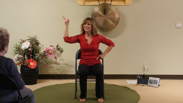 (1 Hr) Holiday All Dancing Chair Yoga Class with Sherry Zak Morris