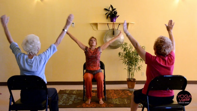 (30-min) Actively Aging: Energizing Chair Yoga with Sherry Zak Morris