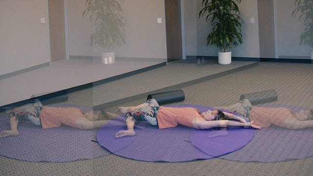 (30-Min) Spine Lengthener and Strengthener Class with Sherry Zak Morris