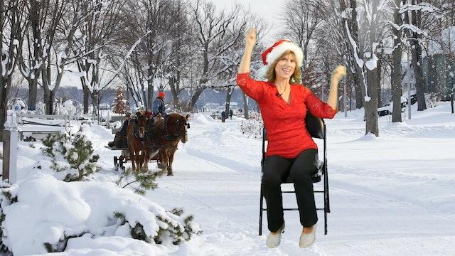 Jingle Bells - Chair Yoga Dance with Sherry Zak Morris