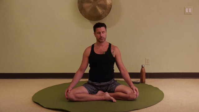 (1 Hr) Gentle Somatic Yoga Zen with James Knight