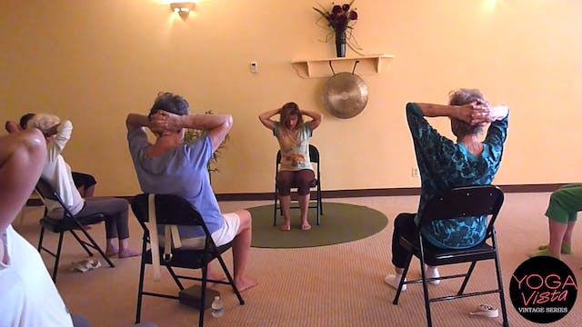 (1 Hr) Chair Yoga for Shoulder Health...