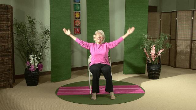 (30-min) Seated Chair Yoga with Paula...