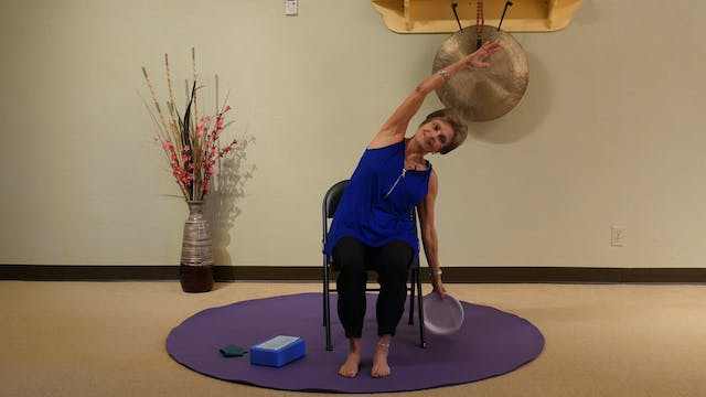 (45-Min) Vibrant Aging Yoga - Seated Yoga Series with Tatis Cervantes-Aiken