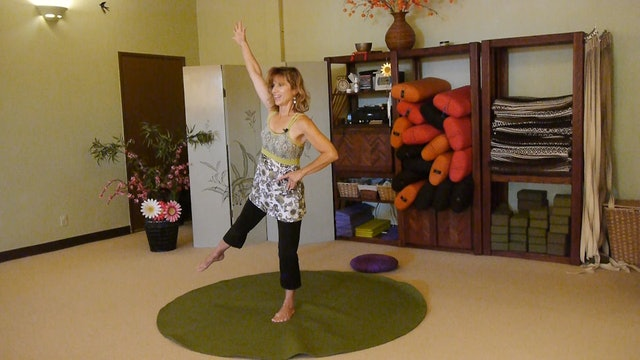 (1 Hr) Top Hat Gentle Yoga Flow Class with Sherry Zak Morris