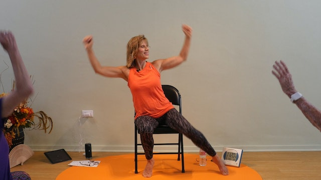 (1 Hr) Summertime All Dancing Chair Yoga Class with Sherry Zak Morris