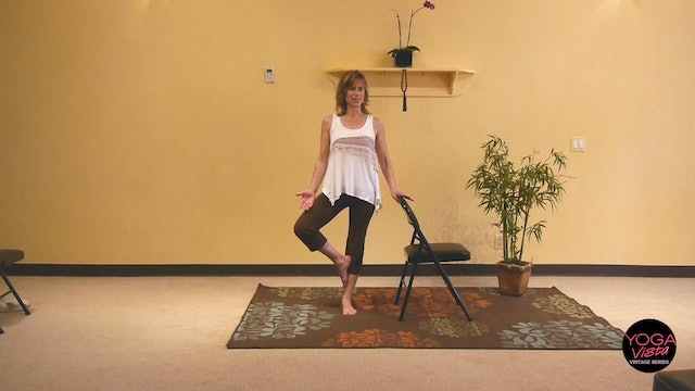 (1 Hr) Chair Yoga for Strength  and Stamina with Sherry Zak Morris