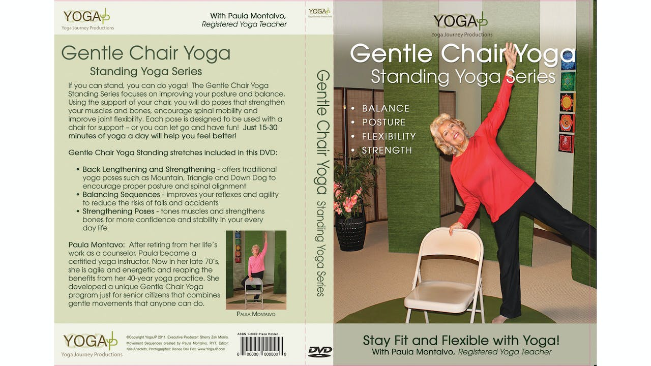 Gentle Chair Yoga - Standing Series with Paula Montalvo