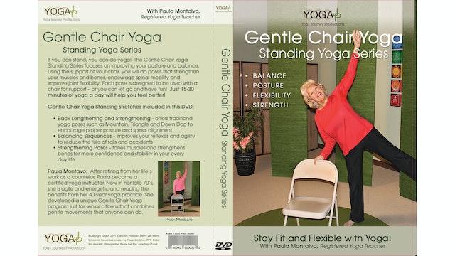 Gentle Chair Yoga - Standing Series with Paula Montalvo