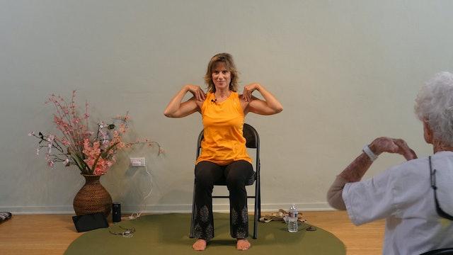Amazing Grace Chair Yoga Dance: Cherokee Version with Sherry Zak Morris
