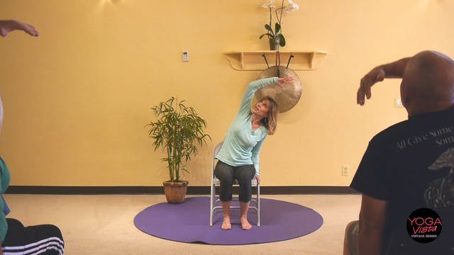(1 Hr) Chair Yoga Class: Reach, Bend,...