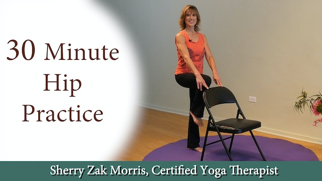 (30-min) Hip Practice for Strength, Mobility & Alignment with Sherry