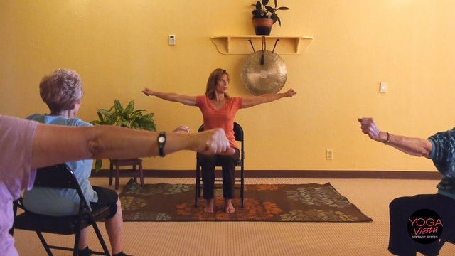 (1 Hr) Energizing Chair Yoga to Infuse Pep Into Your Day! With Sherry Zak Morris