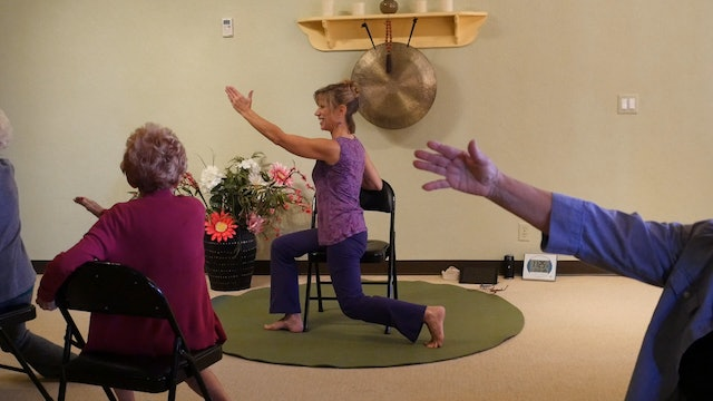 Walking in your Chair! A Sequence to Build Gait Muscles & Coordination w/Sherry