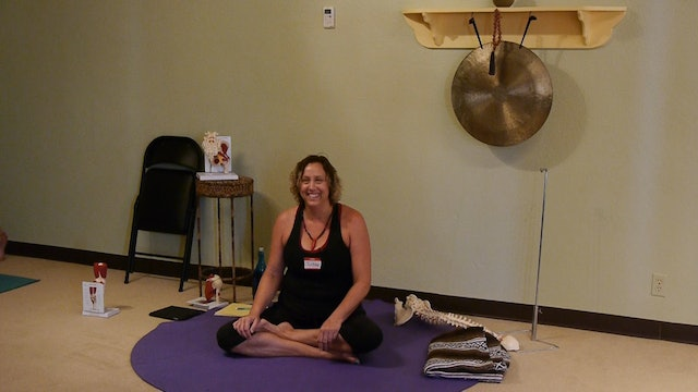 Is Mat or Chair Yoga Better for  for Severe Osteoporosis with Justine Shelton