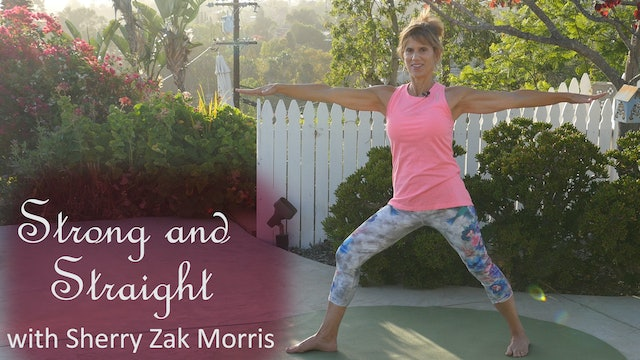 (20-Min) Strong and Straight for Bones and Joints with Sherry Zak Morris