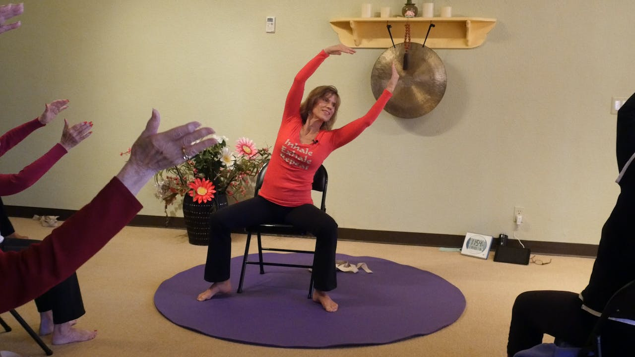 (1 Hr) Working on our Core, Posture & Pelvic Floor with Sherry Zak Morris