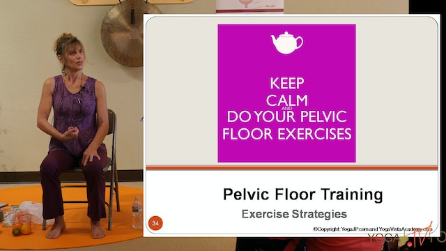 Part 4: Exercises for Your Pelvic Floor with Sherry Zak Morris