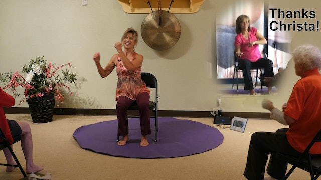 Sway! It's Good for your Health - Chair Yoga Dance with Sherry & Christa