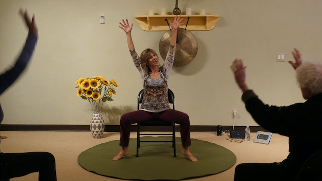 (1 Hr) Oh My 10 Dances! All Dancing Chair Yoga Class with Sherry Zak Morris
