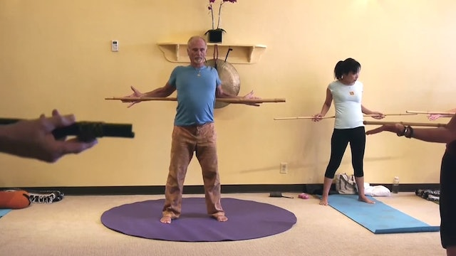 (30-Min) Standing Soma-Kinetics Flow Class with Erhard Rohrmuller