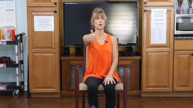 (15-min) Dexterity and Your Brain - Wheelchair Yoga Class with Sherry Zak Morris