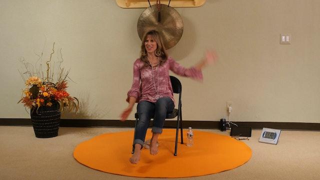 (30-min) Chair Yoga Class when you have Vertigo with Sherry Zak Morris