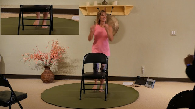 Dance the Locomotion with Me - Chair Yoga Dance with Sherry Zak Morris