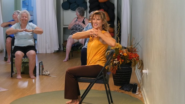 (1 Hr) Sharing the Love and Knowledge Chair Yoga Class with Sherry Zak Morris