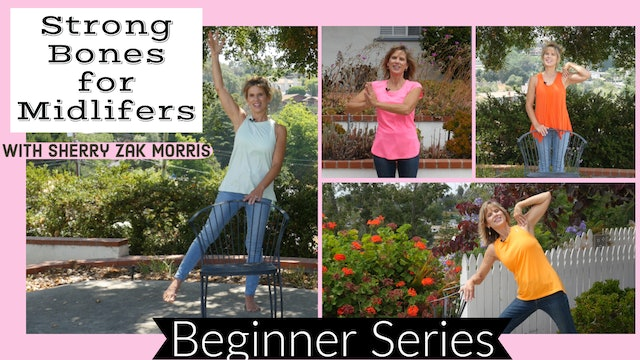 PREVIEW Strong Bones for Midlifers: Yoga for Osteopenia & Osteoporosis w/Sherry
