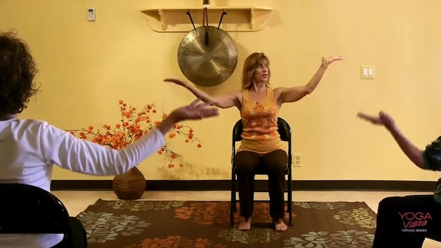 (1 Hr) Diversity! Chair Yoga Poses from Many Yoga Teachers! with Sherry