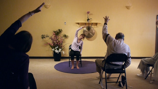 (1 Hr) Feeling Loose and Feeling Better - Chair Yoga Class with Sherry Zak Morris