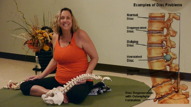 Online Course: I've Got Your Back! Low Back Care Class with Justine Shelton