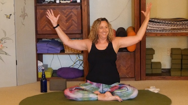 (1 Hr) Gentle Yoga Therapy for your Precious Joints with Justine Shelton