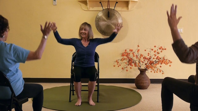 Chair Yoga Dancing with Julie! The Show Must Go On!