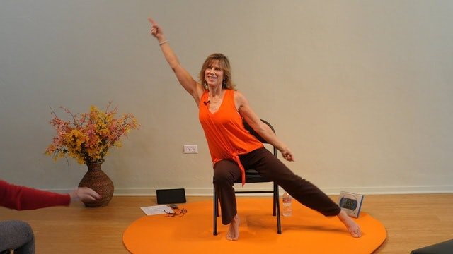 Stayin Alive - Disco Chair Yoga Dance with Sherry Zak Morris
