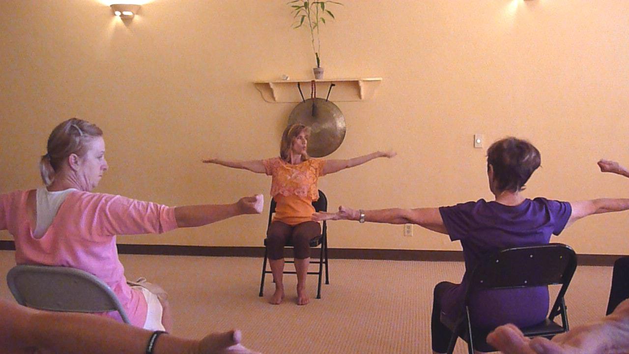 Vintage Chair Yoga Classes (2013-2015)
