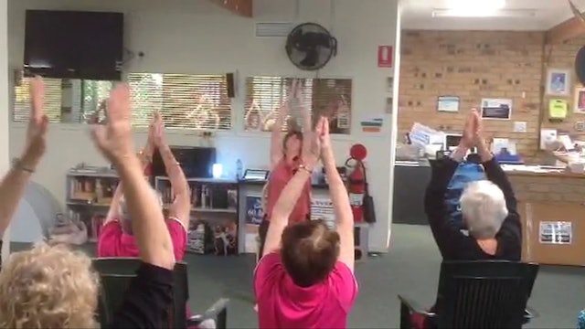 He's Got the Whole World - Chair Yoga Dance with Kate in Australia