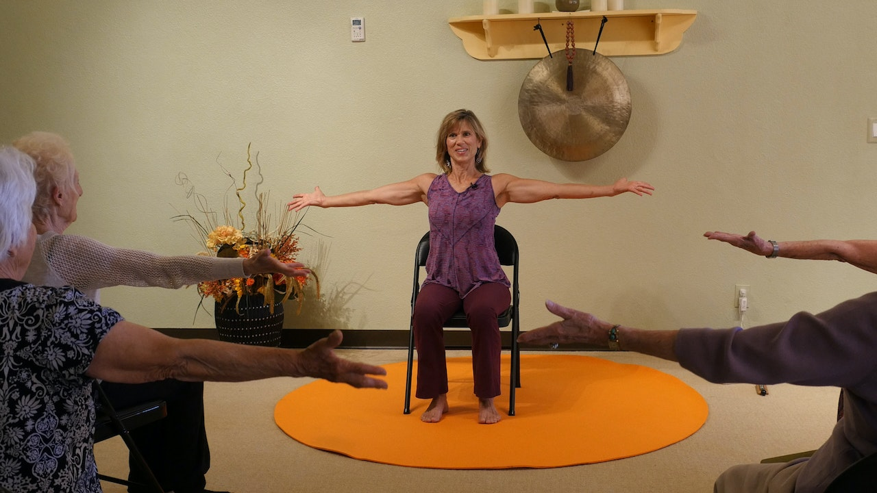 1-Hr Chair Yoga Classes