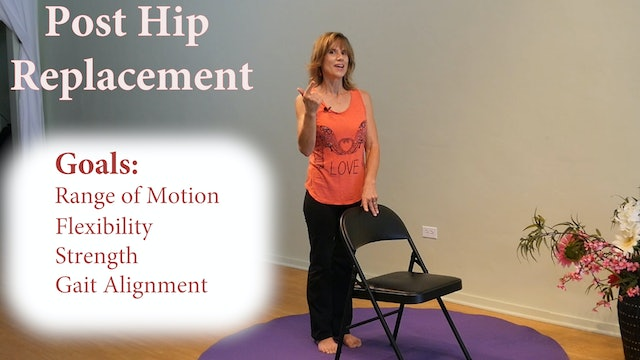 Exercises after a Hip Replacement: Do's & Don'ts with Sherry Zak Morris, C-IAYT
