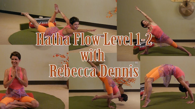 (1 Hr) Fly! Soar! Twist! and Flow! Hatha Flow LIVE with Rebecca Dennis