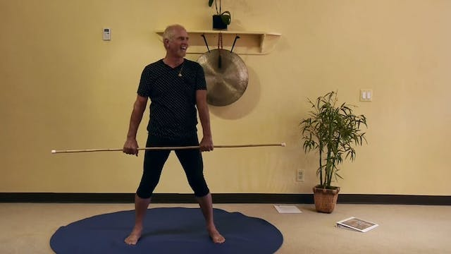 (40-Min) Standing Stick Sequences wit...