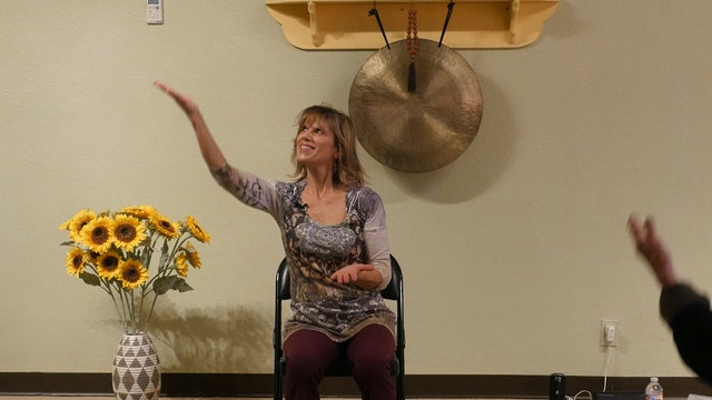 What a Wonderful World Chair Yoga  Dance with Sherry Zak Morris