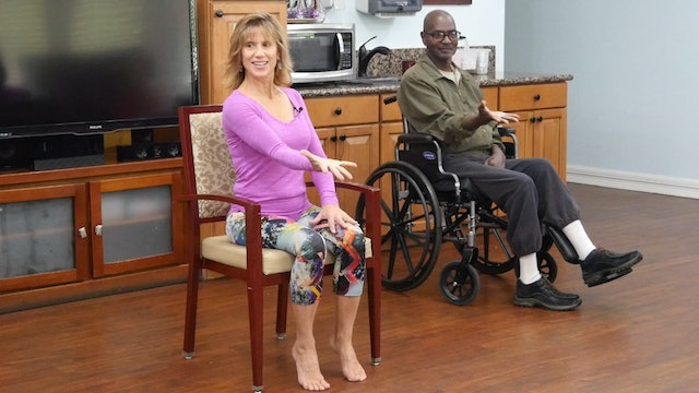 (15-min) Movements for Mobility - Wheelchair Yoga Class with Sherry Zak Morris