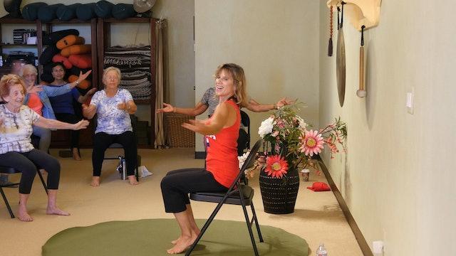 (1 Hr) Better Balance All Dancing Chair Yoga Class with Sherry Zak Morris