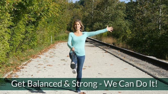 Get Balanced and Strong with Sherry Zak Morris, Certified Yoga Therapist