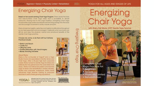 Energizing Chair Yoga with Sherry Zak Morris