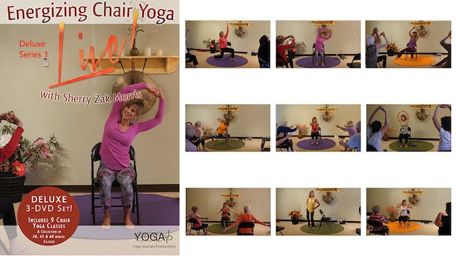 Best of 2018!  Energizing Chair Yoga LIVE w/Sherry