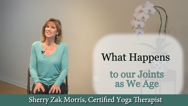 What Happens to our Joints as We Age with Sherry Zak Morris, C-IAYT