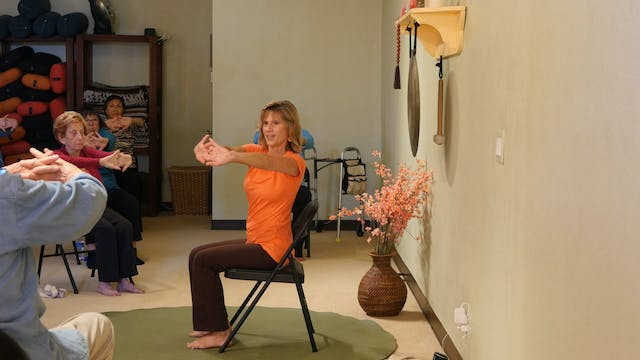 (1 Hr) Chair Yoga for Heart Health wi...